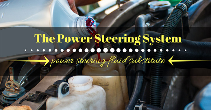 power steering fluid substitute
