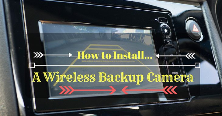 how to install wireless backup camera
