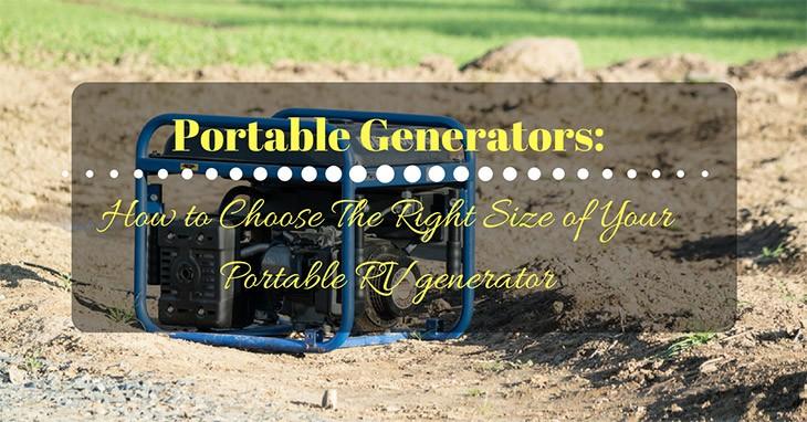Portable Generators for RV