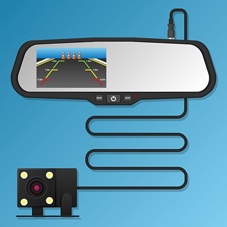 The rearview Screen